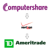 Transferring stock from Computershare to TD Ameritrade