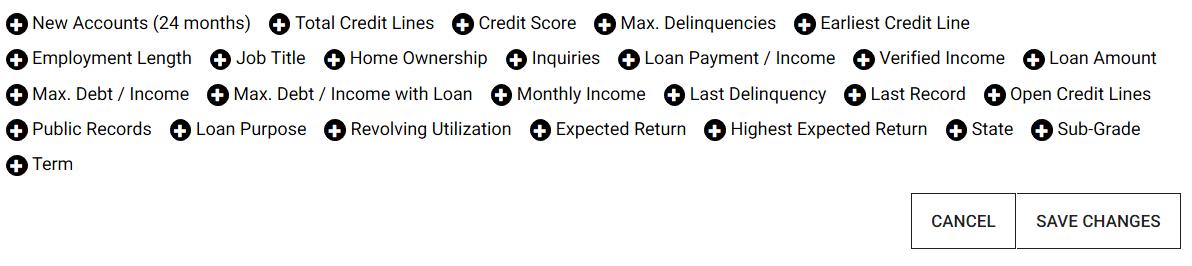 LendingRobot Review criteria