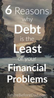 how to pay off debt before retirement