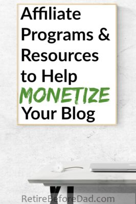 Whether you have a blog or are considering starting one, this page contains blogging resources and affiliate programs to help monetize your money blog.