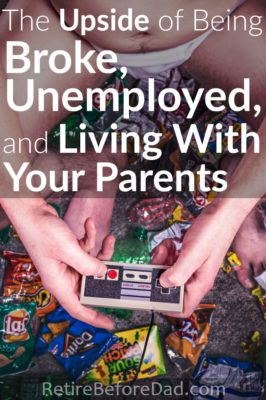 Being broke, unemployed, and living with your parents in your 20's would be terrible, right? Well, it's not so bad considering all the low-cost benefits. When I was at home, I didn't realize the great opportunity it was.