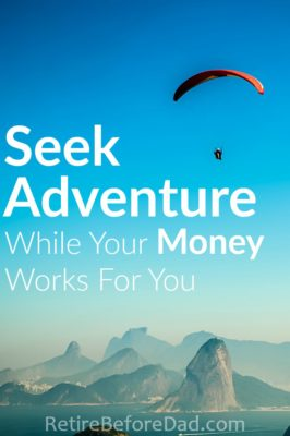You can seek adventure while you earn passive income via investments and side gigs. Digital nomads around the world are doing this today and you can too if you understand how to build income streams and travel on a budget.