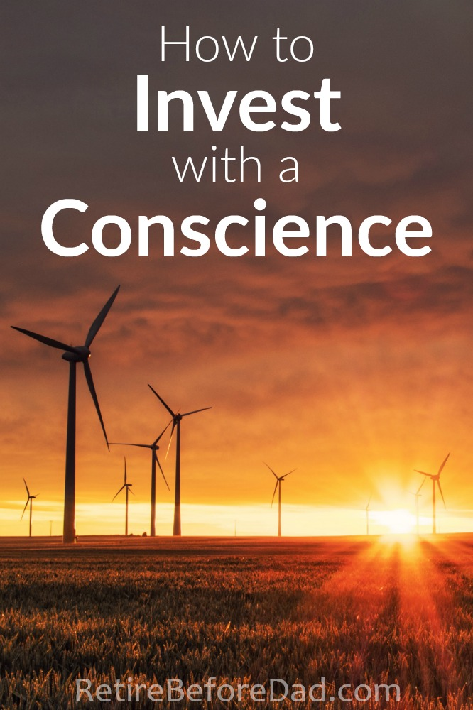 Do you avoid investing because you don't want to compromise your values? ESG investing (environmental, social, governance) is a way to evaluate whether a company's values are aligned with yours. This article provides tips on how to invest with a conscience. windmills