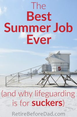 The best summer job I ever had was running beach stand while in college. But it almost didn't happen. Don't hesitate when a brilliant opportunity comes your way.