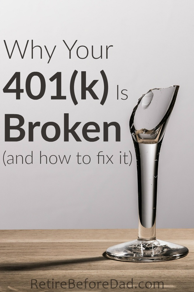 Your 401(k) may be broken and you don't even know it. Here are some common problems with 401(k) plans and how to fix them. Plus a free 401(k) analysis.