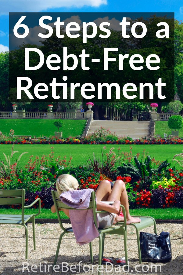 Imagine a life with no financial obligations to anyone. There's a unique comfort in paying off all your debts before you retire. These six steps will help you achieve a debt-free retirement.