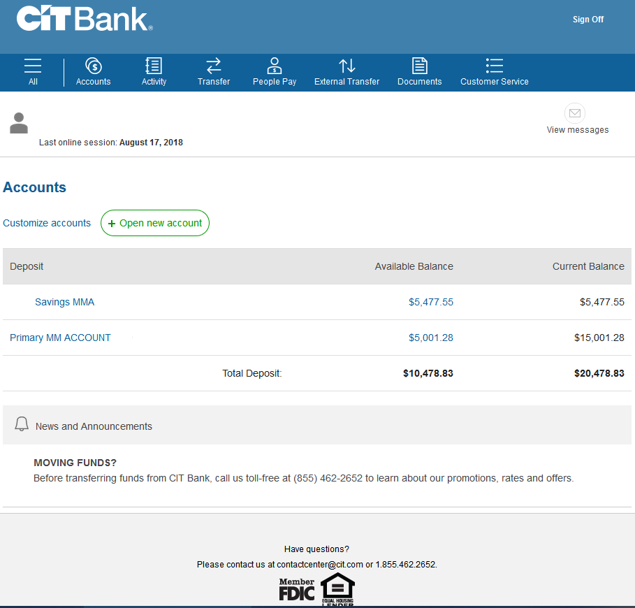 The CIT Bank Money Market account is an excellent choice for your money. This CIT Bank review highlights the high-yielding account, its strong security and ease of use.