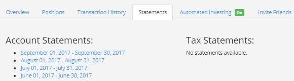 peerstreet review statements