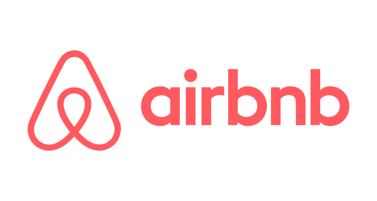 Airbnb stock IPO logo