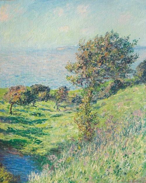 masterworks review: Claude Monet's Coup de Vent front side