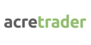 AcreTrader Logo. A top real estate crowdfunding investing platform.