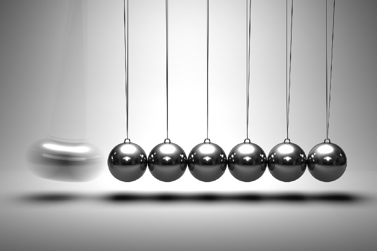 Black and white photo of Newton's cradle, depicting perpetual motion. You don't need an annuity to create guaranteed lifetime income for your retirement. Here are several ways to build income streams to last until you die.