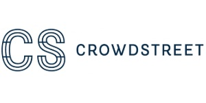 Crowdstreet Logo. A top real estate crowdfunding investing platform.