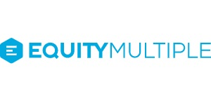 EquityMultiple logo. A top real estate crowdfunding investing platform.