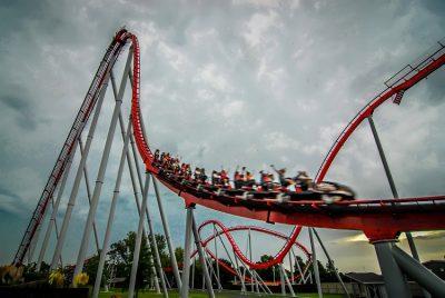 rollercoaster amusement park ride