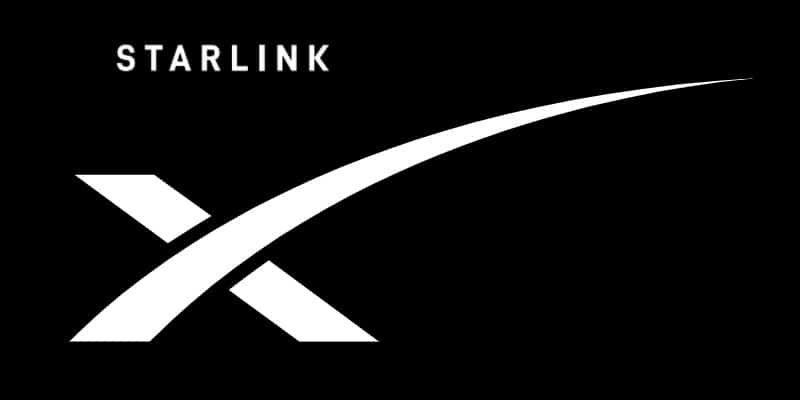 SpaceX Logo from Starlink website. Starlink stock and IPO are not yet available, but possibly coming in a few years.